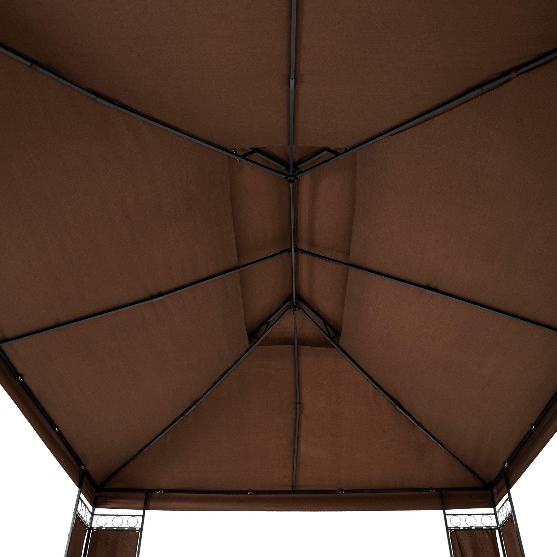 TecTake Carpa pabellón Tienda de Jardin 390x290x265 cm | Incl ...