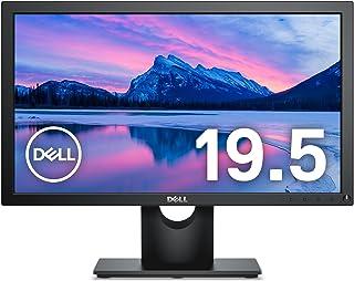 Dell モニター 19.5インチ E2016H(3年間交換保証/CIE1976 86%/HD+/TN非光沢/フリッカーフリー/DP,D-Sub15ピン)