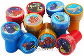 Finding Dory 10 Assorted Self Inking Stampers Party Favor