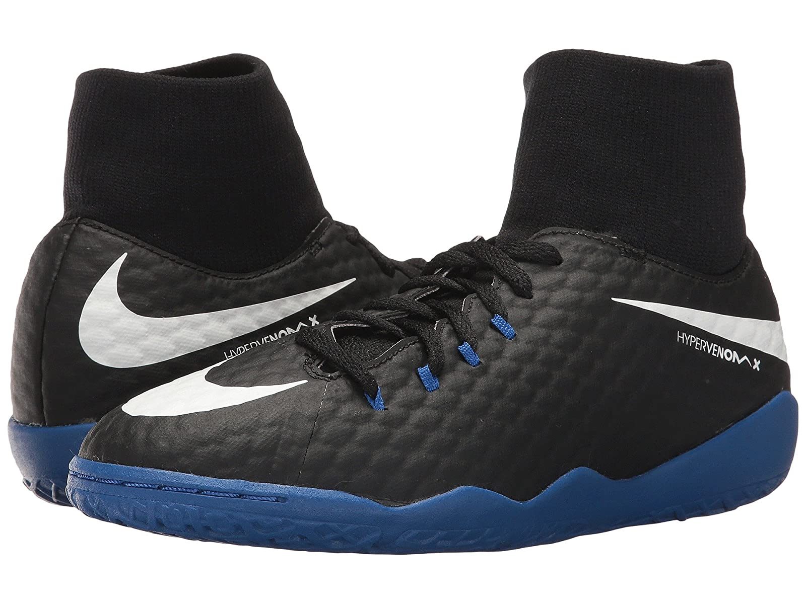 Nike Kids HypervenomX Phelon III Dynamic Fit IC Soccer Shoe (Little Kid/Big Kid)Cheap and distinctive eye-catching shoes