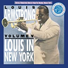 louis armstrong in new york
