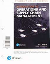 Introduction to Operations and Supply Chain Management, Student Value Edition Plus MyLab Operations Management with Pearson eText -- Access Card Package (5th Edition)