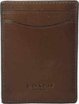COACH Sport Calf 3-in-1 Card Case