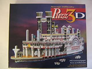 Puzz 3D Mississippi Steamboat 406 Pieces New/Sealed