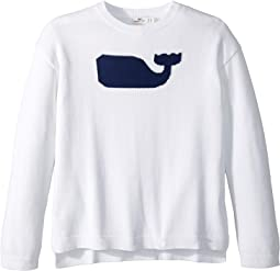 Whale Intarsia Sweater (Toddler/Little Kids/Big Kids)