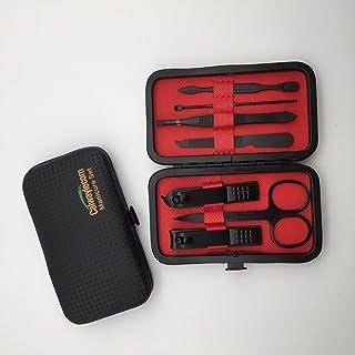 Calwaylecom - Juego de cortauñas, kit de manicura y pedicura, 7 en 1, kit de manicura para mujeres y hombres