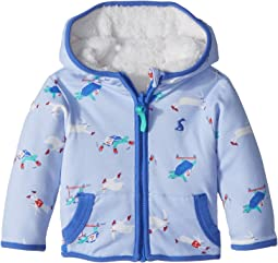 Joules Kids - Reversible Fleece Zip-Up Jacket (Infant)