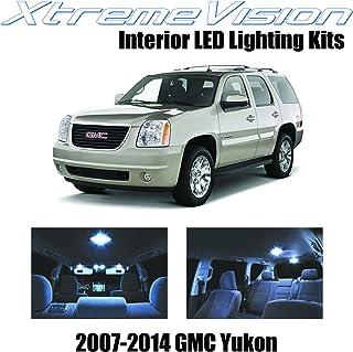 XtremeVision Interior LED for GMC Yukon 2007-2014 (12 Pieces) Cool White Interior LED Kit + Installation Tool