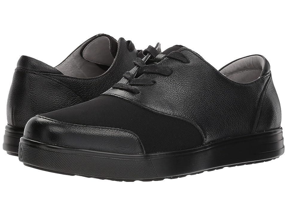 Alegria Flexer (Black Mix) Men's Lace up casual Shoes