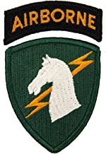 1st Special Operations Command w/Airborne Tab Patch Full Color