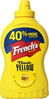 French's Classic Yellow Mustard Family Size 20 oz (Pack of 3)
