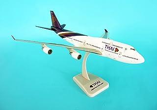 ホーガンウィングス 1/200 タイ国際航空 B747-400 HS-TGF スタンド&ギア付き