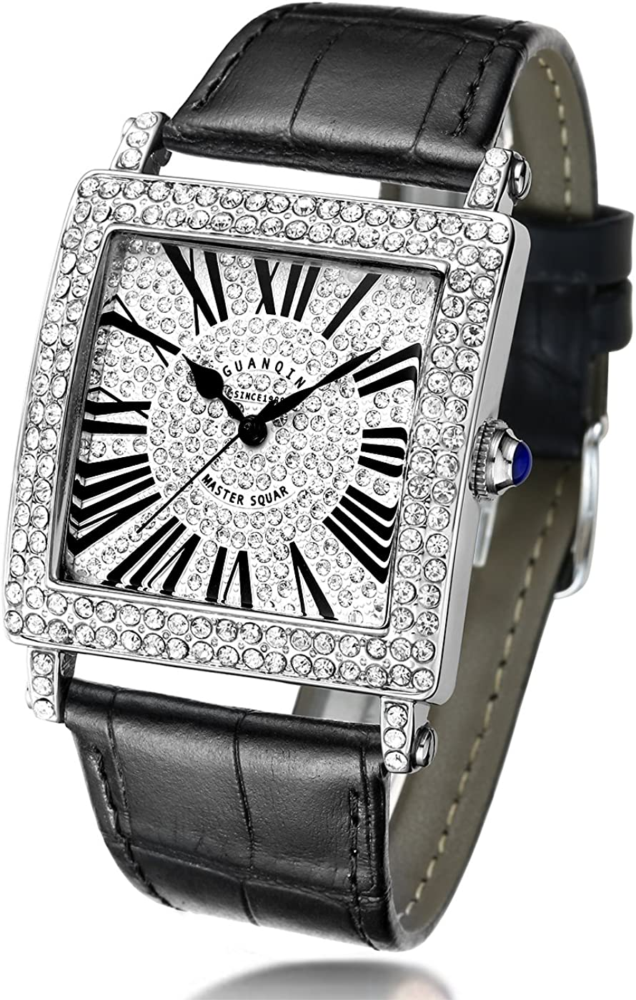 GUANQIN Men's Ranking TOP19 Women's Quartz Very popular Luxury Dial with Wrist Analog Watch