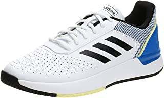 adidas Courtsmash, Men's Tennis Shoes, White (Ftwr White/Glory Blue)