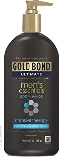 Gold Bond Men's Essentials Intensive Therapy Lotion, Basic clean 13 Ounce