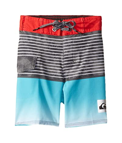 Quiksilver Kids Highline Slab 14 Boardshorts (Toddler/Little Kids) (Hibiscus) Boy