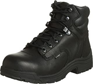 black safety boots womens