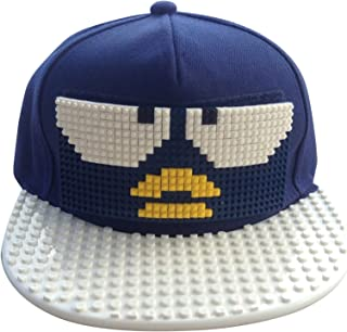 Kids Baseball Cap Hat | Childrens Snapbacks | Cool Fashion Baseball Caps For Boys | Building Block