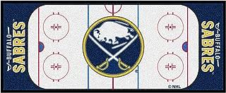 FANMATS NHL Buffalo Sabres Nylon Face Football Field Runner