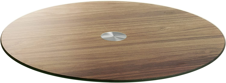 Holzoptik Tortenplatte Kuchenplatte /Ø: 33 cm LEONARDO HOME Servierplatte Limito