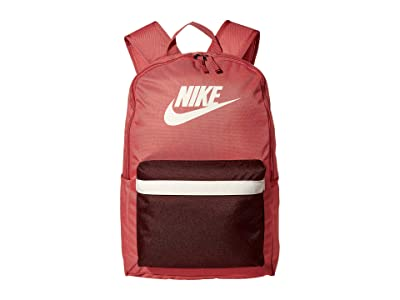 Nike Heritage Backpack 2.0 (Canyon Pink/Earth/Pale Ivory) Backpack Bags