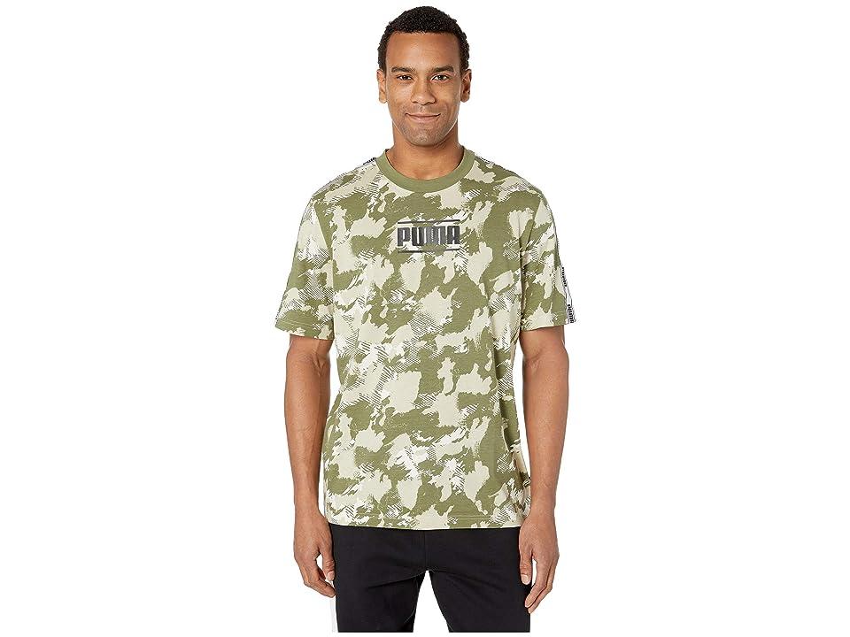 667940d264f PUMA Camo Pack AOP Tee (Birch AOP) Men s T Shirt