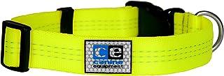"Canine Equipment 3/4"" Technika Utility Dog Clip Collar, X-Small, Neon Yellow"