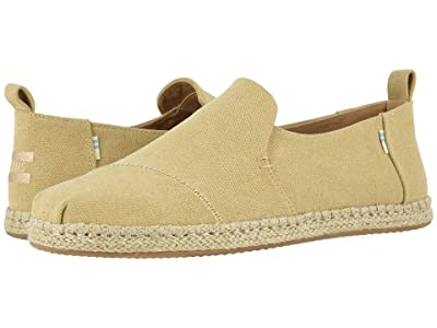 TOMS Deconstructed Alpargata Rope (Desert Tan) Men