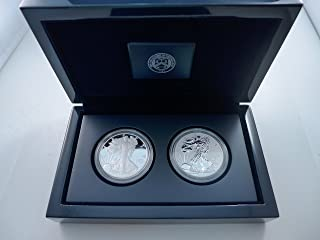 silver eagle reverse proof set