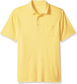 Amazon Essentials Men's Regular-Fit Pocket Jersey Polo