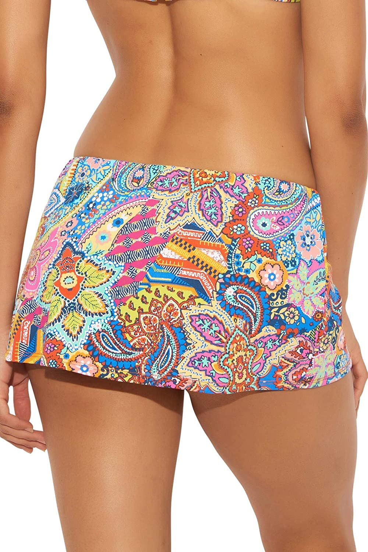 Bleu Rod Beattie Women's Groovy Baby Skirted Hipster Bikini Bottom