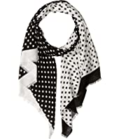 Kate Spade New York - Lia Dot Oblong Scarf