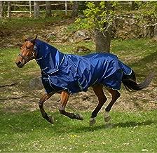 Bucas Smartex Horse Neck Rug - Size:Medium Color:Navy