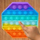Fidget toys 3d hexagon pop it bubble wrap...
