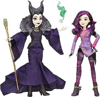 Disney Descendants Mal Isle of The Lost & Maleficent 2 Pack (Amazon Exclusive)
