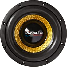 American Bass Usa XD 8 600 Watts Max Dual 4Ohm Subwoofer