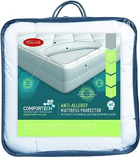 Tontine T6142 Comfortech Anti Allergy Mattress Protector, King Single
