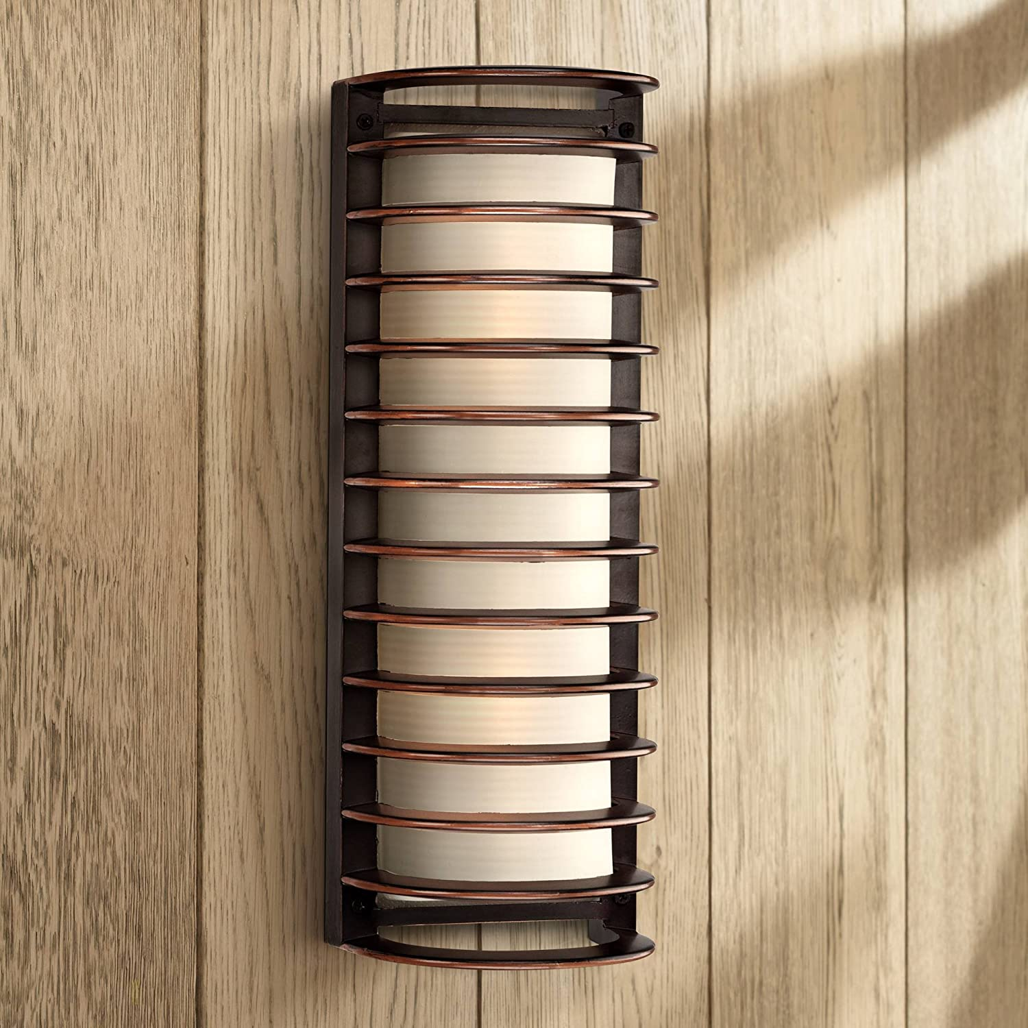 Modern Industrial Sconce Outdoor Wall Limited price Ranking TOP15 sale Light Fixture Bronz Rubbed