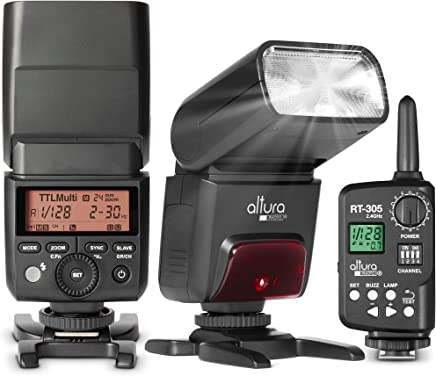 Camera Flash with Trigger for Nikon by Altura Photo –...