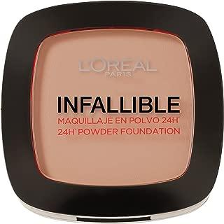 L´Oréal Paris Make Up Designer Infallible Foundation, Maquillaje en Polvo, Color 245