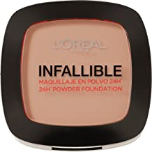 L'Oréal Paris - Infallible 24H, Maquillaje en Polvo Compacto, Tono 245
