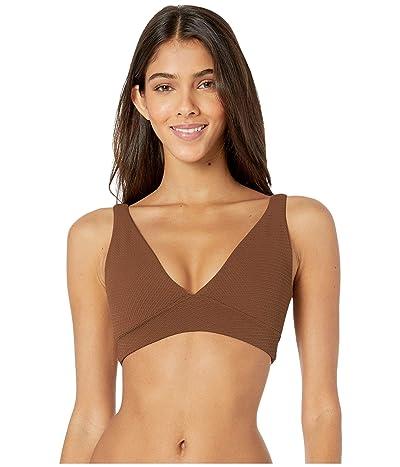 Maaji Allure Four-Way Reversible Bikini Top (Coconut Brown Texture) Women