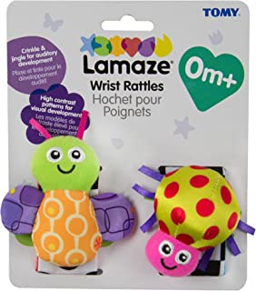 Lamaze Wrist Rattle Toy, Bug