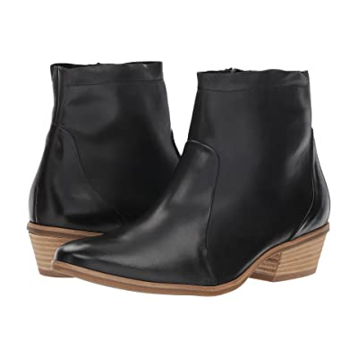 Paul Green Shaw Boot (Black Leather) Women