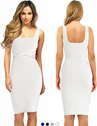 88495fc5d232 Evening Cocktail Midi Dress For Woman To Sexy Bodycon Business Office Work  Casual Elegant Winter