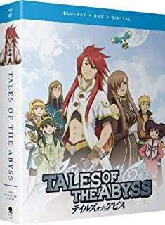 Tales Of The Abyss Complete Series Blu-Ray/DVD(テイルズ オブ ジ アビス 全26話)