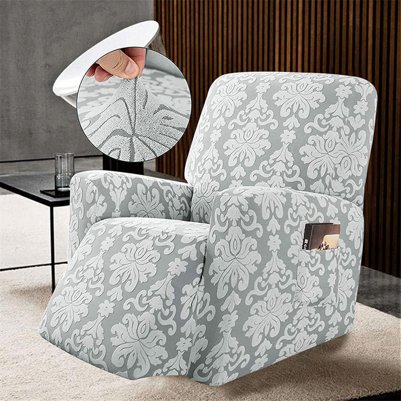 JINSHAO Jacquard Recliner Inexpensive Sofa Chair Cover Armchair Sli Indefinitely Elastic