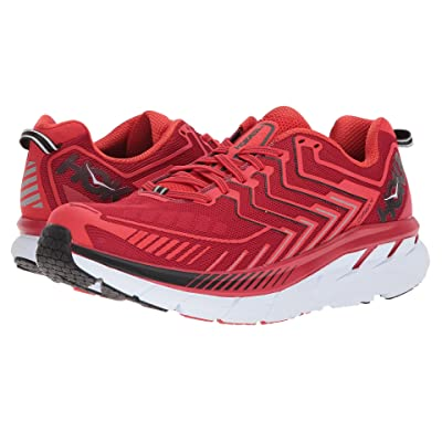 Hoka One One Clifton 4 (Haute Red/High Risk Red) Men