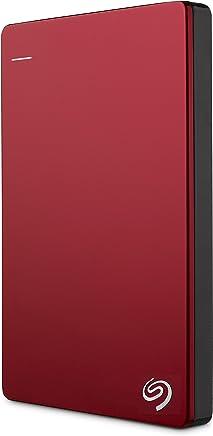 Seagate STDR2000203, Seagate Backup Plus Slim Taşınabilir Disk  USB 3.0  Mac ve Pc, 2000 GB, Kırmızı