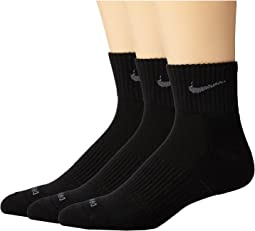 Nike Dri-FIT Cushion Quarter 3 Pack